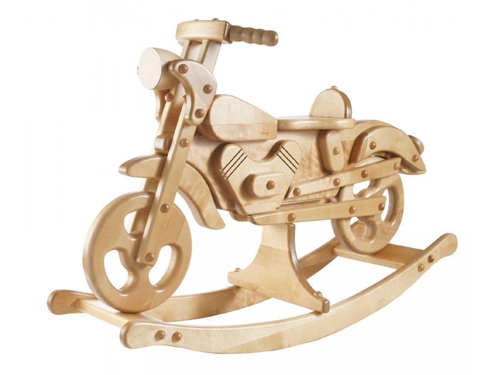 dřevěné houpadlo Kandu Super Motorbike tw ryder