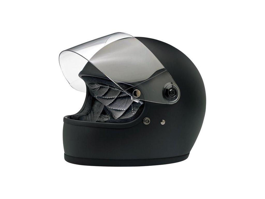 Motorkářská uzavřená helma inspirována 70 lety s ece homologací ... d3b0a9f89e