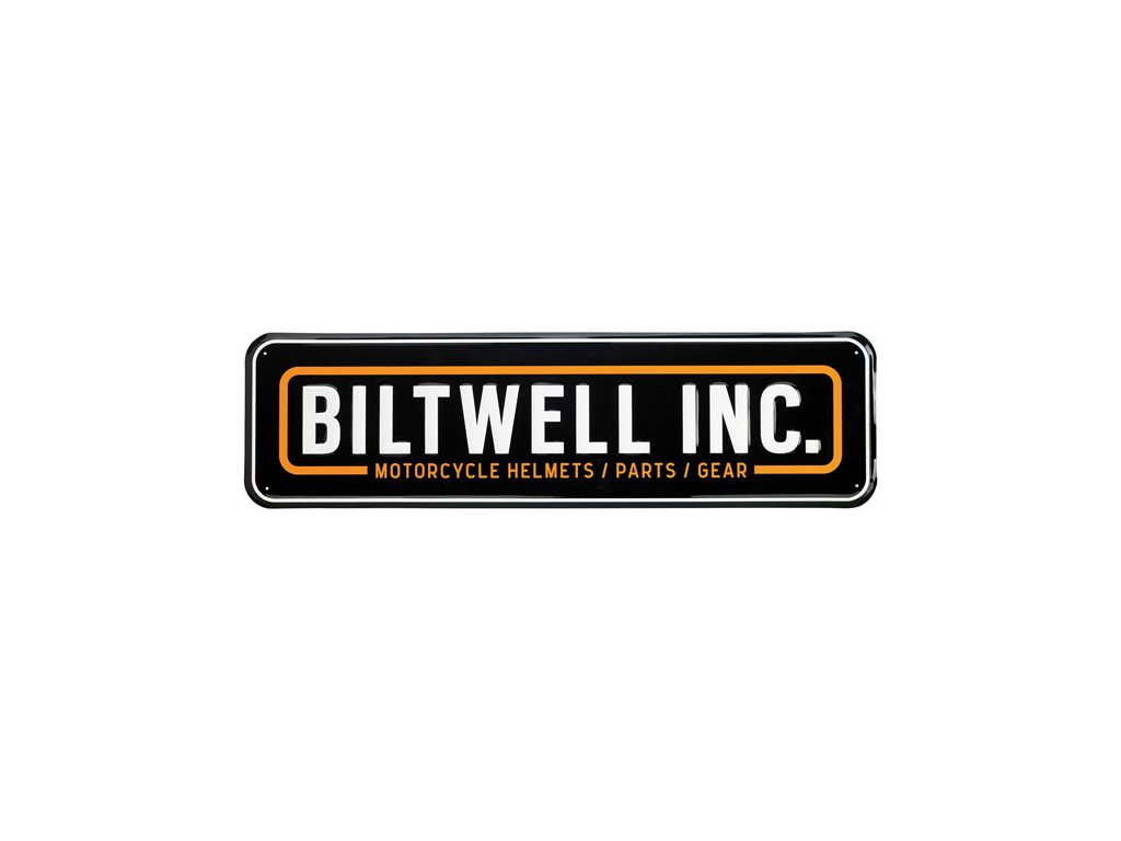Reklamní cedule Biltwell Rectangle TW Ryder 055052d23b