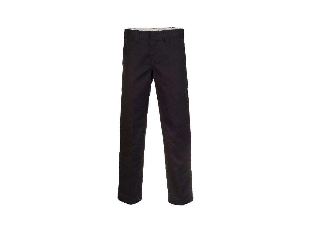 Motorkářské kalhoty (džíny) s nižším pasem a užším střihem Dickies 873 SLIM STRAIGHT WORK PANT BLACK v černé barvě