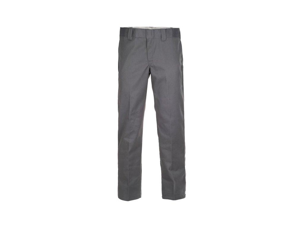 Motorkářské kalhoty (džíny) s nižším pasem a užším střihem Dickies 873 SLIM STRAIGHT WORK PANT CHARCOAL GREY v šedé barvě