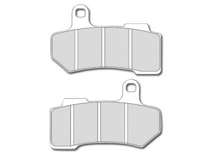 Brzdové destičky pro VRSC / Touring - přední/zadní