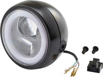 Capsule120, LED světlomet, Boční montáž, Černá