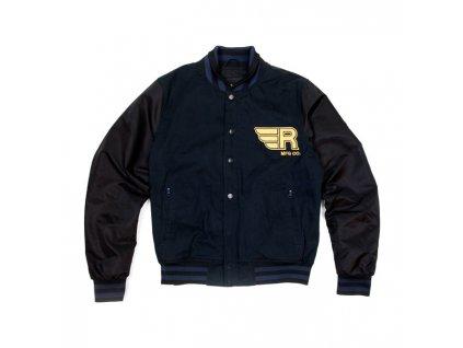 Motorkářská textilní bunda ROEG v tmavě modré barvě