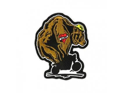 Stylová nášivka ROEG Throttle Bear TW Ryder