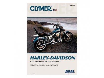 Servisní manuál v anglickém jazyce pro motocykly Harley-Davidson obsahuje kompletní schémata zapojení. Od základní údržby po řešení problémů a dokončení generální opravy vašeho motocyklu. Jasně a srozumitelně vysvětleno a popsáno. Clymer manuál pro FXDB, FXDC, FXDL, FXDWG, FXD a FXDS Convertible modely, to je 552 stránek se stovkami fotografií, kreseb a grafů. TW Ryder