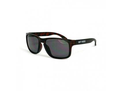 ROEG® Billy sluneční brýle v hnědém rámu Vám poskytnou 100% UV ochranu. Mají kouřová polarizovaná skla s CE- homologací . TW Ryder