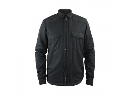 Motorkářská kevlarová moto košile John Doe Lumberjack Motorshirt Basic Dark Grey v tmavě šedé barvě