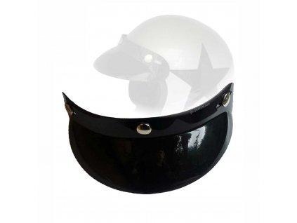 Nacvakávací kšilt Bandit pasující na integrální i otevřené helmy. TW Ryder