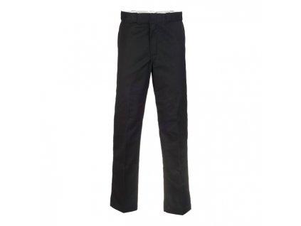 Motorkářské kalhoty (džíny) s vyšším pasem Dickies 874 WORK PANT BLACK v černé barvě