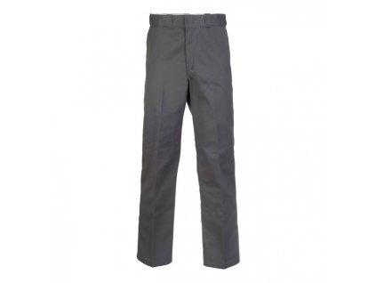 Motorkářské kalhoty (džíny) s vyšším pasem Dickies 874 WORK PANT CHARCOAL GREY v šedé barvě