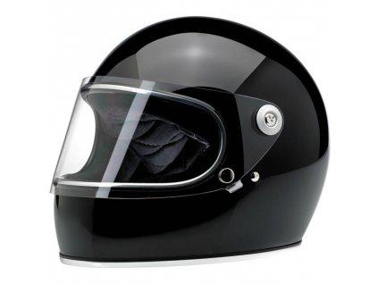Gringo S Helmet Gloss Black ECE