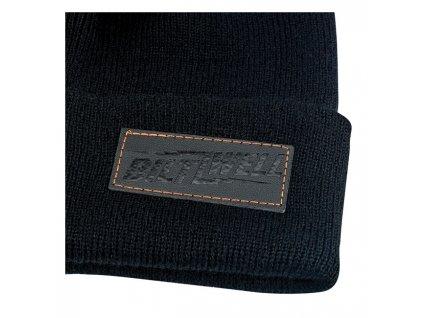 Motorkářská čepice s logem Biltwell SHIELD v černé barvě. Biltwell kulich 56d5c816cc