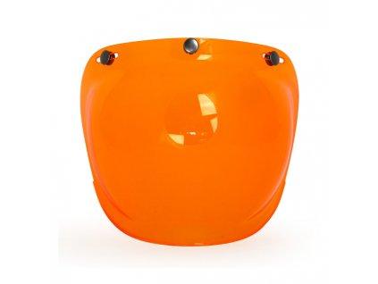 Motorkářský polykarbonátový vypouklý štít pro Roeg Jett přilby ROEG® štít Orange v oranžové barvě